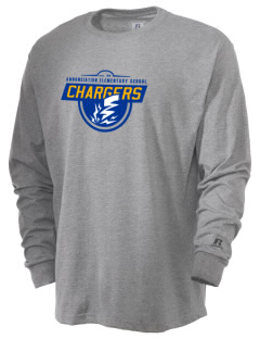 Annunciation Elementary School Chargers  Russell Men's Long Sleeve T-Shirt