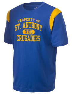 Saint Anthony School Crusaders Holloway Men's Rush T-Shirt
