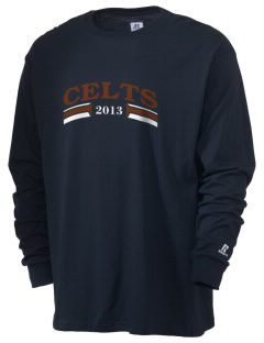 Crespi Carmelite High School Celts  Russell Men's Long Sleeve T-Shirt