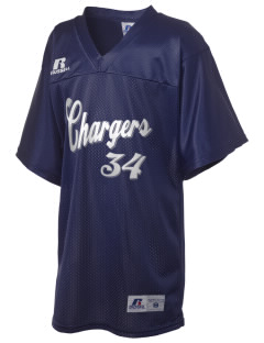 Saint Bede School Chargers Russell Kid's Replica Football Jersey