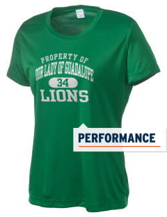 Our Lady Of Guadalupe School Lions Women's Competitor Performance T-Shirt