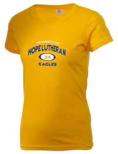 Hope Lutheran School Eagles  Russell Women's Campus T-Shirt
