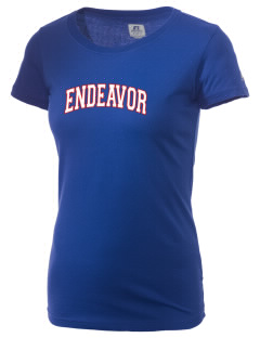 Endeavor Intermediate School Space Shuttles  Russell Women's Campus T-Shirt