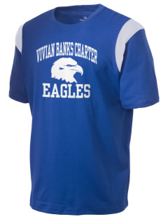 Vivian Banks Charter School Eagles Holloway Men's Rush T-Shirt