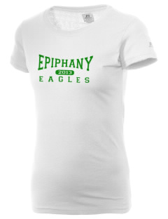 School Of The Epiphany Eagles  Russell Women's Campus T-Shirt