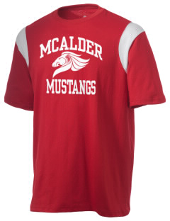 McAlder Elementary School Mustangs Holloway Men's Rush T-Shirt