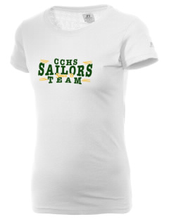 Columbus High School Sailors  Russell Women's Campus T-Shirt