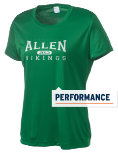 Allen Elementary School Vikings Women's Competitor Performance T-Shirt