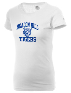 Beacon Hill Elementary School Tigers  Russell Women's Campus T-Shirt