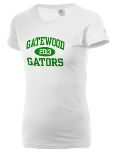 Gatewood Elementary School Gators  Russell Women's Campus T-Shirt
