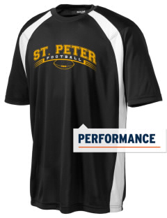 Saint Peter School Chargers Men's Dry Zone Colorblock T-Shirt