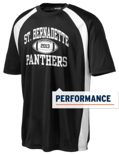 Saint Bernadette Parish School Panthers Men's Dry Zone Colorblock T-Shirt