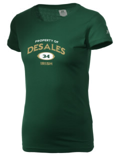 DeSales Catholic High School Irish  Russell Women's Campus T-Shirt