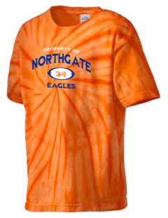 Northgate Elementary School Eagles Kid's Tie-Dye T-Shirt