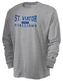 Saint Viator School Stallions  Russell Men's Long Sleeve T-Shirt