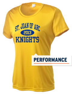 Saint Joan Of Arc Elementary School Knights Women's Competitor Performance T-Shirt