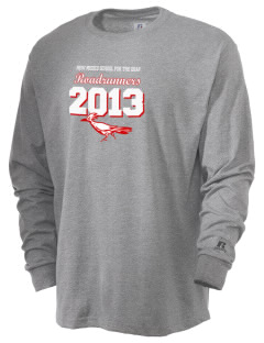 New Mexico School For The Deaf Roadrunners  Russell Men's Long Sleeve T-Shirt