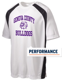 Geneva County High School Bulldogs Men's Dry Zone Colorblock T-Shirt