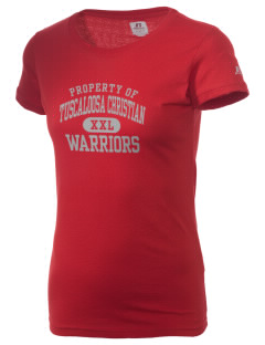 Tuscaloosa Christian School Warriors  Russell Women's Campus T-Shirt