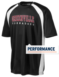 Greenville Academy Tornadoes Men's Dry Zone Colorblock T-Shirt