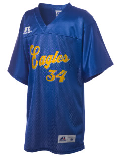 Victory Baptist Academy Eagles Russell Kid's Replica Football Jersey