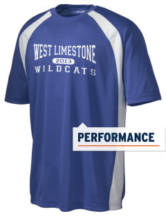 West Limestone School Wildcats Men's Dry Zone Colorblock T-Shirt