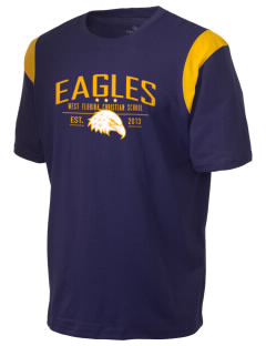 West Florida Christian School Eagles Holloway Men's Rush T-Shirt