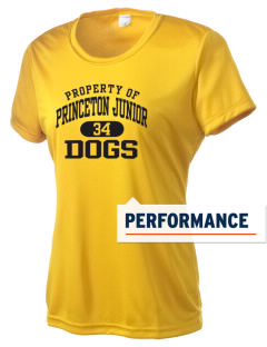 Princeton Junior School Dogs Women's Competitor Performance T-Shirt