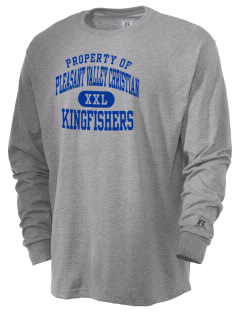 Pleasant Valley Christian Academy Kingfishers  Russell Men's Long Sleeve T-Shirt