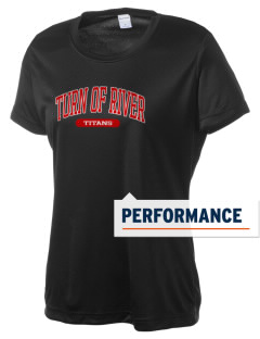 Turn Of River Middle School Titans Women's Competitor Performance T-Shirt