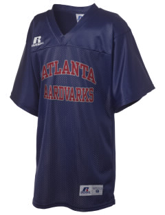 Atlanta Adventist Academy Aardvarks Russell Kid's Replica Football Jersey