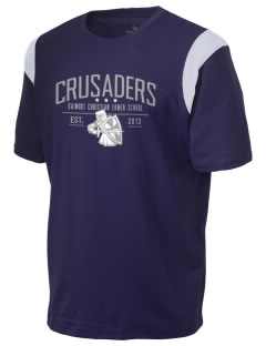 Kaimuki Christian Lower School Crusaders Holloway Men's Rush T-Shirt