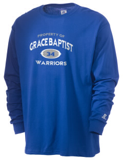 Grace Baptist Academy Warriors  Russell Men's Long Sleeve T-Shirt