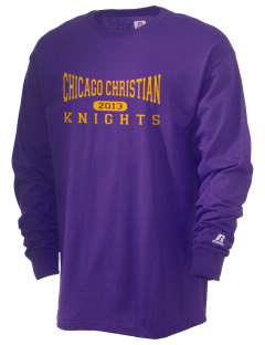 Chicago Christian High School Knights  Russell Men's Long Sleeve T-Shirt