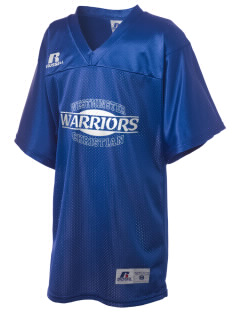 Westminster Christian School Warriors Russell Kid's Replica Football Jersey