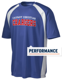 Calvary Christian Academy Chargers Men's Dry Zone Colorblock T-Shirt