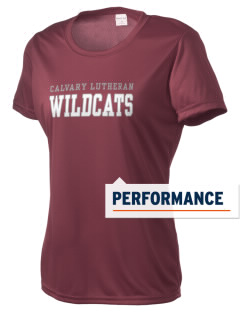 Calvary Lutheran School Wildcats Women's Competitor Performance T-Shirt