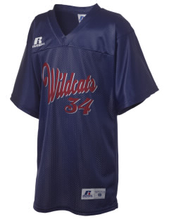 Calvary Lutheran School Wildcats Russell Kid's Replica Football Jersey