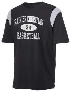 Rainier Christian Middle School Mustangs Holloway Men's Rush T-Shirt