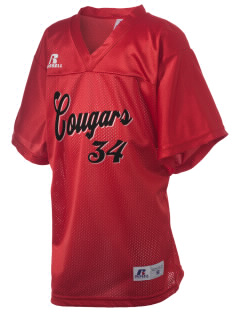 Upper Lake Union High School Cougars Russell Kid's Replica Football Jersey