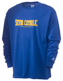 Seton Catholic Saints  Russell Men's Long Sleeve T-Shirt