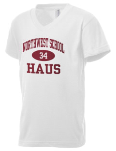 The Northwest School Seattle Kid's V-Neck Jersey T-Shirt