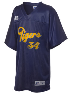 Dewey Elementary School Tigers Russell Kid's Replica Football Jersey