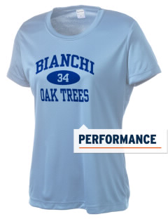 Bianchi Elementary School Oak Trees Women's Competitor Performance T-Shirt