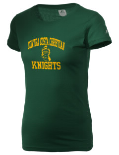 Contra Costa Christian Academy Knights  Russell Women's Campus T-Shirt