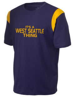 West Seattle High School Indians Holloway Men's Rush T-Shirt