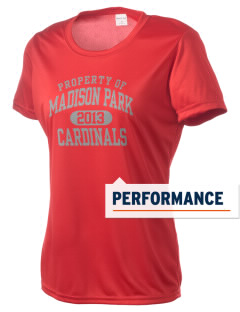 Madison Park Technical Vocational High School Cardinals Women's Competitor Performance T-Shirt