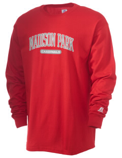 Madison Park Technical Vocational High School Cardinals  Russell Men's Long Sleeve T-Shirt