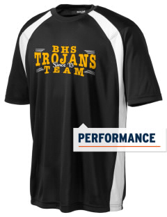 Bergan High School Trojans Men's Dry Zone Colorblock T-Shirt