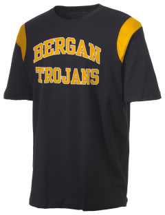 Bergan High School Trojans Holloway Men's Rush T-Shirt